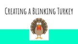 Creating an animated gif Blinking Turkey with Pixlr