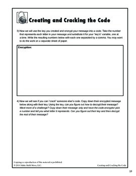 Creating and Cracking the Code