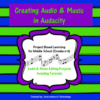 Creating and Editing Audio & Music in Audacity