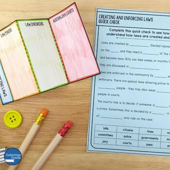 Creating and Enforcing Laws (Year 5 HASS)