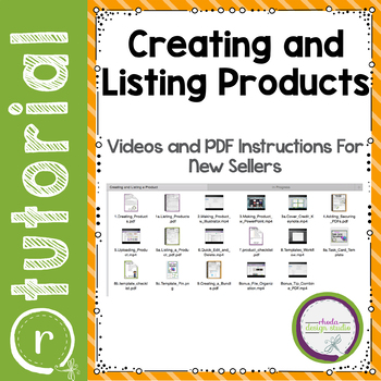 Creating and Listing Products on Teachers Pay Teachers
