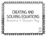 Creating and Solving Equation Stations
