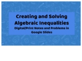 Creating and Solving Inequalities