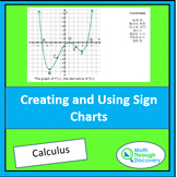 Calculus - Creating and Using Sign Charts