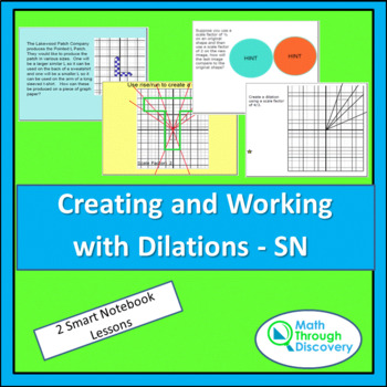 Geometry:  Creating and Working with Dilations