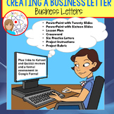 Creating and Writing Business Letters - PPTs, Lesson Plan,