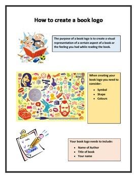 Creating book logos