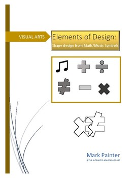 Creating design with Math/Music shapes: Principles of Design