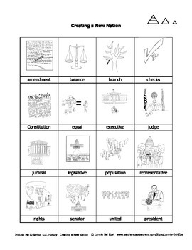 Creating the New US in Pictures for Special Ed, ESL and ELL Students