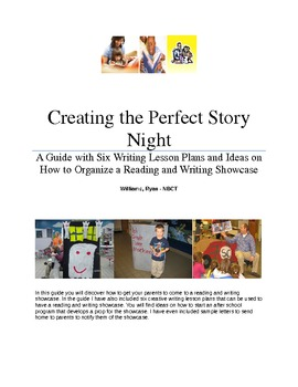 Six Writing Lesson Plans and How to Host a Writing Night
