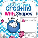 Creating with Shapes Freebie!
