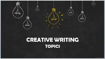 Creating writing topics