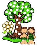 Creation, Adam & Eve dot paint pages- Bible Story activity