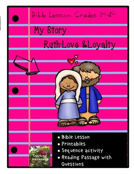 Ruth Bible Lesson (My Story Series)