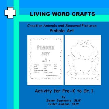 Creation Animals and Seasonal Activities – Pinhole Art Pre-K to Gr.1