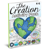 Days of Creation Bible Activity Pack