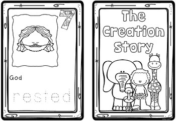 Creation - Bible Story - Book Templates