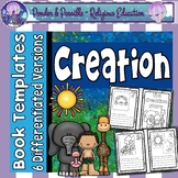 Days of Creation Bible Story: Book Templates