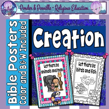 Creation - Bible Story - Posters