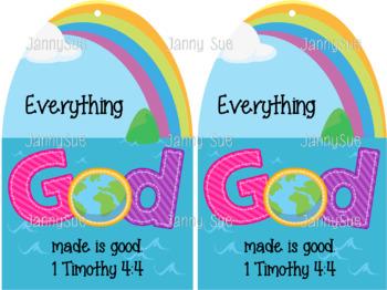 Creation Bible Verse Craft Kit