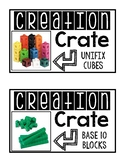 Creation Crate Labels for STEM