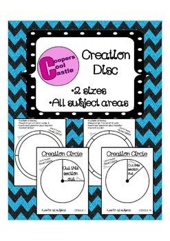 Creation Circles (Cute on Card Stock)