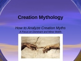 Creation Myth Analysis Lecture w/ Dominant & Minor Motifs plus Student Activity