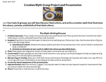 Creation Myth Project