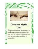 Creation Myth Short Unit, Lecture Notes, Myths, Writing Act., Creative Myth