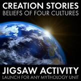 Creation Stories, Meaningful Jigsaw Activity to Intro. any Mythology Unit