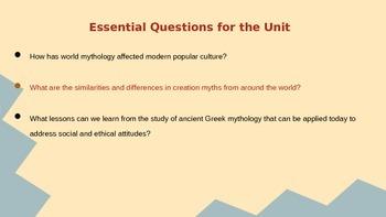 Creation Myths - Mythology and the Modern World