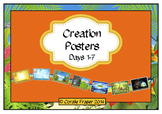 Creation Posters Days 1 - 7