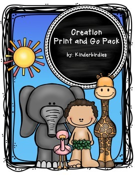 Creation Print and Go Pack