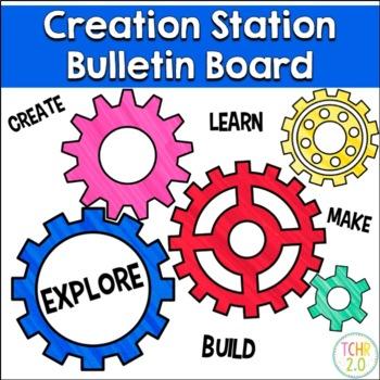 Creation Station Bulletin Board