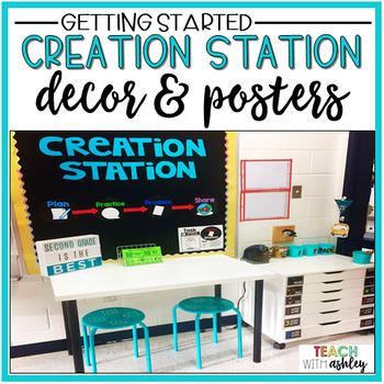 Creation Station Decor