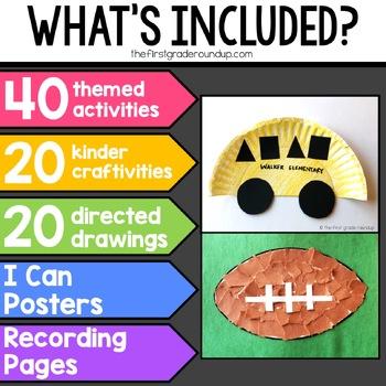 Creation Station GROWING BUNDLE for Kindergarten