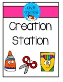 Creation Station - Picture Cards