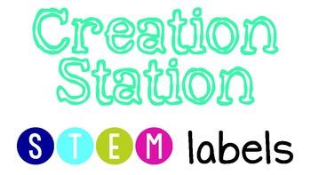 Creation Station STEM Labels