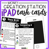 Creation Station iPad Task Cards Money