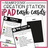 Creation Station iPad Task Cards Number Sense