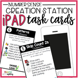 Creation Station iPad Task Cards Number Sense