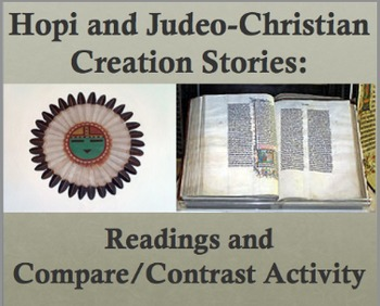Creation Stories: Readings and Venn Diagram Comparison