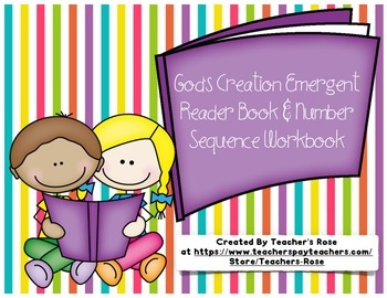 Creation Emergent Reader Book