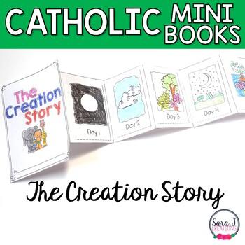 Creation Story Mini Book by Sara J Creations | Teachers Pay Teachers
