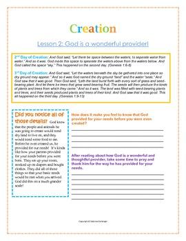 Creation Story Study/Devotional