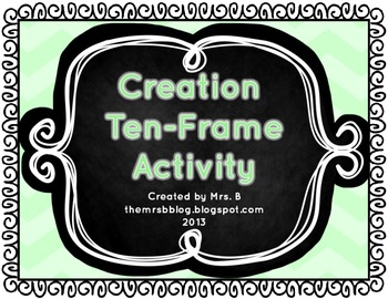 Creation Ten-Frame Activity