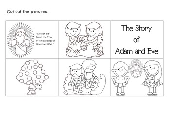 Creation and Adam & Eve Printables