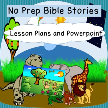 Bible Stories Creation/Adam and Eve