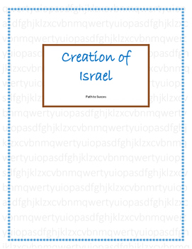 Religion: Creation of Israel