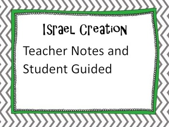 Creation of Israel Notes
